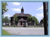 Wielkie Karlowice - drewniany kościół
