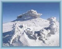 Kamienie Piotra w zimie