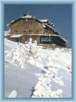 Chatą Jerzego w zimie