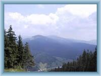 Widok z Czartowej góry