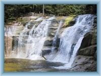 Mumlawski wodospad opodal Harrachowa
