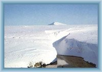 Biała Łąka w zimie
