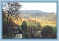 Widok na część wioski