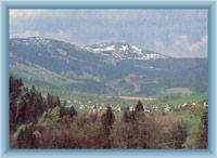 Widok na Łysą górę i Kotel