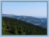 Przednia Planina z Złotego wzgórza