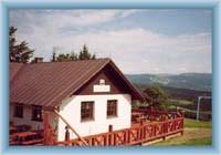 Chata przy trasie narciarskiej