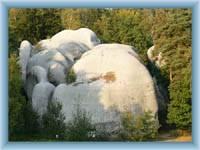 Białe kamienie