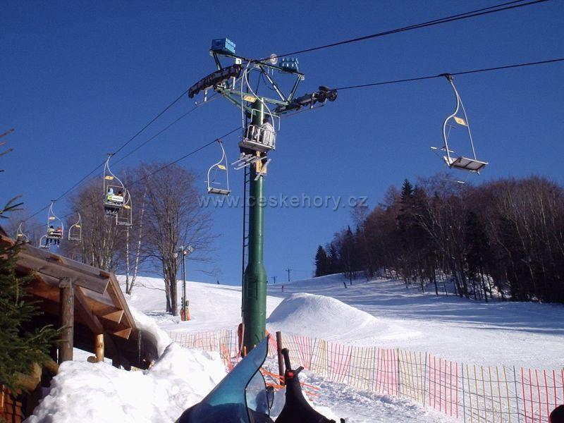 Ski areał Korzenow - Rejdice - SKIREGION.CZ