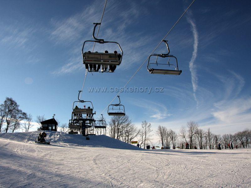 Skiareál Aldrov – Vítkovice v Krkonoších