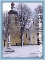 Czeska Skalica - Kosćioł
