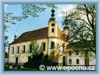 Opočno - Kosćioł