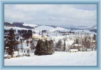 Bartoszowice w zimie