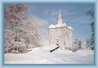 Kaplica w zimie